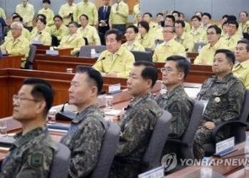 exercice de crise Corée